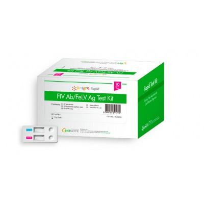 FIV Ab/FeLV Ag (10 pruebas)
